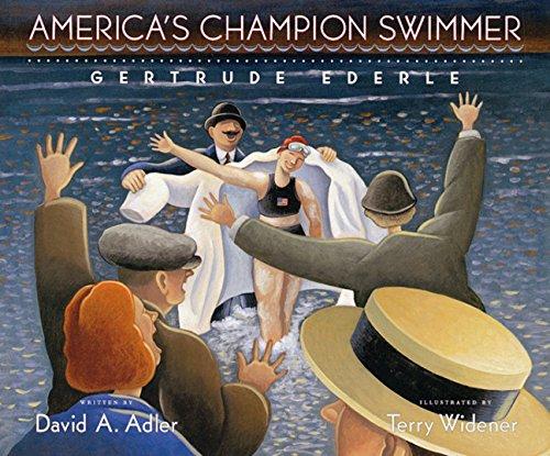 9780152019693: America's Champion Swimmer: Gertrude Ederle
