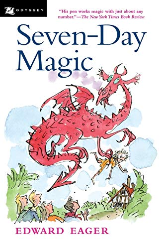 9780152020781: Seventh-day Magic (Tales of Magic)