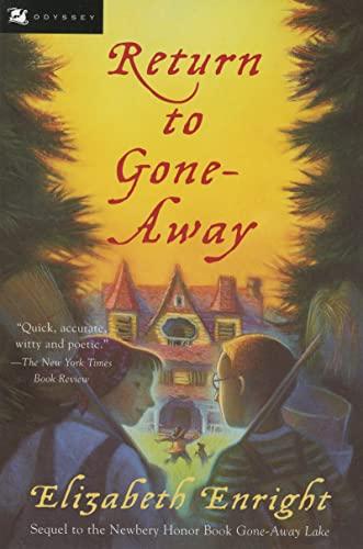 9780152022563: Return to Gone-Away (Gone-Away Lake Books)