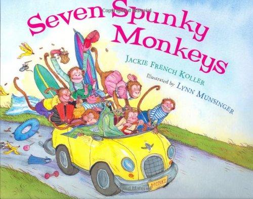 9780152025199: Seven Spunky Monkeys
