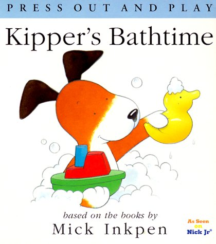 9780152026943: Kipper's Bathtime: [Press Out and Play]