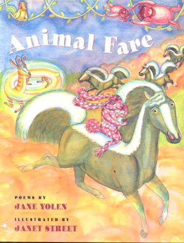 9780152035501: Animal Fare: Poems