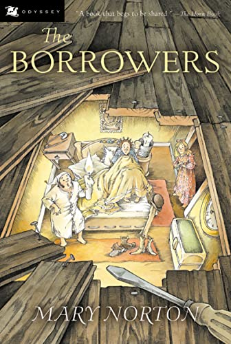 9780152047375: The Borrowers (Odyssey/Harcourt Young Classic)