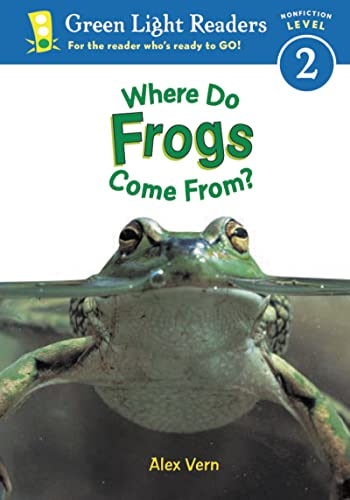 9780152048440: Where Do Frogs Come from: Level 2 (Green Light Reader - Level 2 (Quality))