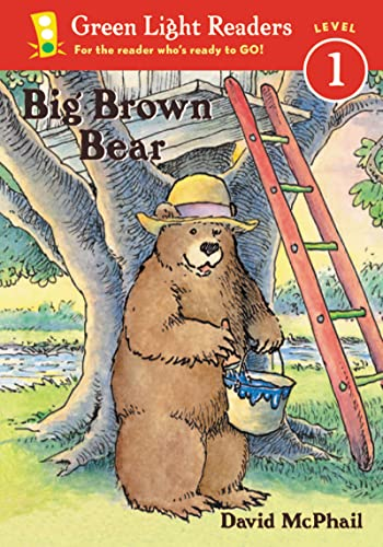 Big Brown Bear (Green Light Readers Level 1): McPhail, David