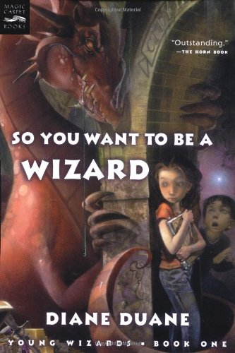 9780152049409: So You Want to Be a Wizard (digest): Young Wizards, Book One