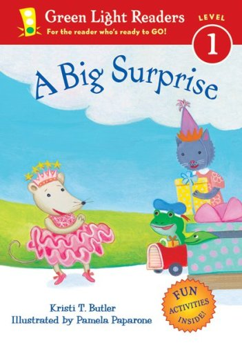 9780152051426: A Big Surprise (Green Light Readers Level 1)