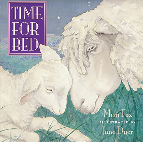 9780152053499: Time for Bed: Lap-Sized Board Book