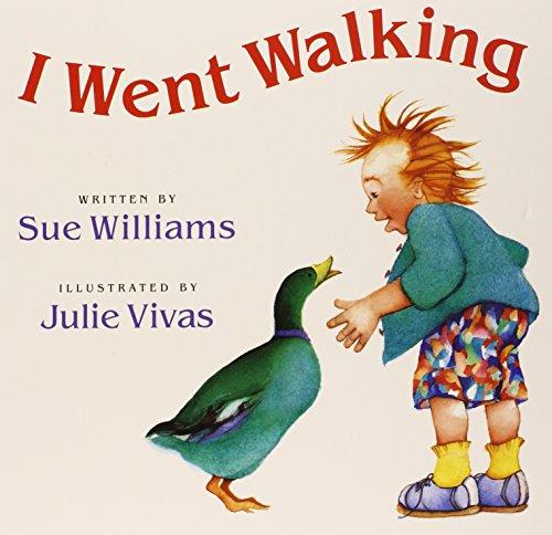 9780152056261: I Went Walking: Lap-Sized Board Book