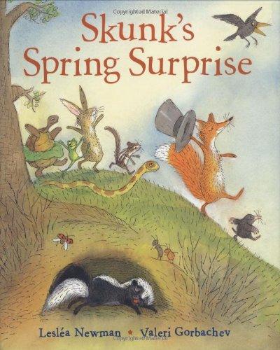 9780152056834: Skunk's Spring Surprise