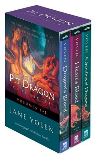 9780152057671: The Pit Dragon Chronicles, Volumes 1-3: Dragon's Blood/ Heart's Blood/ A Sending of Dragons