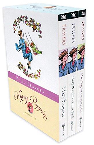 9780152058692: Mary Poppins: Three Enchanting Classics : Mary Poppins, Mary Poppins Comes Back, and Mary Poppins Opens the Door