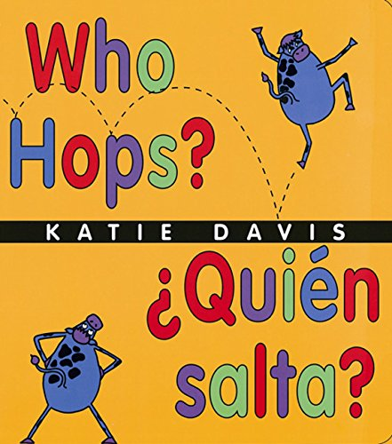 9780152058890: Who Hops?/Quien salta?: Lap-Sized Board Book