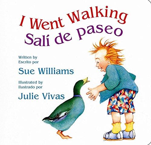 9780152058951: I Went Walking/Sali de paseo: Lap-Sized Board Book