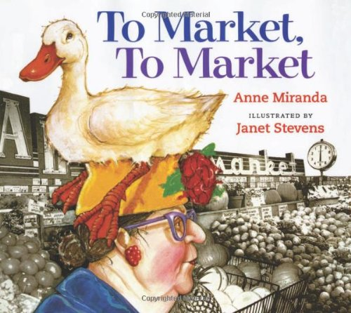 9780152059033: To Market, to Market: Lap-sized Board Book
