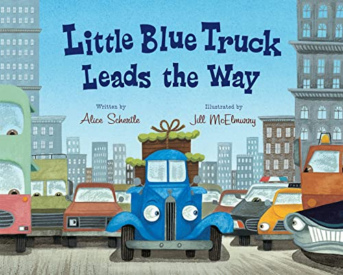 9780152063894: Little Blue Truck Leads the Way