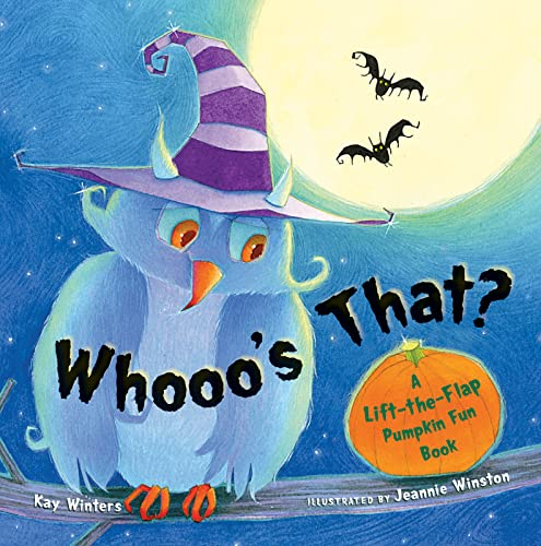 9780152064808: Whooo's That?: A Lift-the-Flap Pumpkin Fun Book