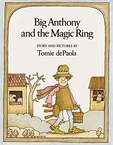 9780152071240: Big Anthony and the Magic Ring