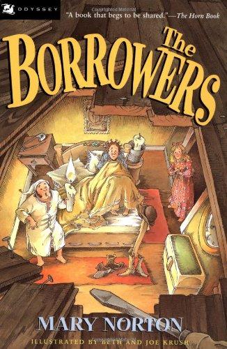 9780152099909: The Borrowers(Tetley Edition)