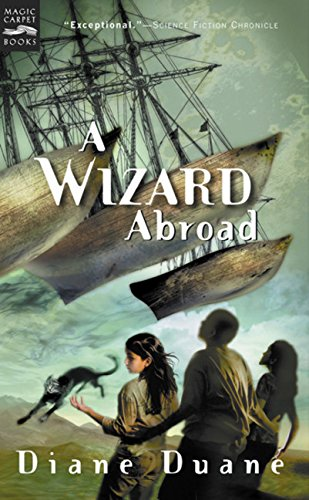 9780152162382: A Wizard Abroad: The Fourth Book in the Young Wizards Series