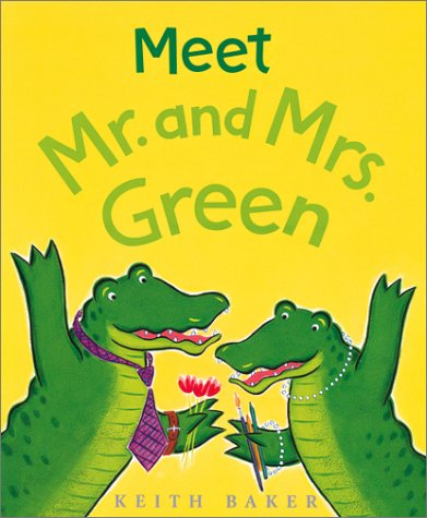 9780152165062: Meet Mr. and Mrs. Green
