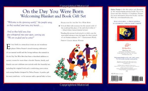 9780152166939: On the Day You Were Born Gift Set: [Welcoming Blanket and Book]