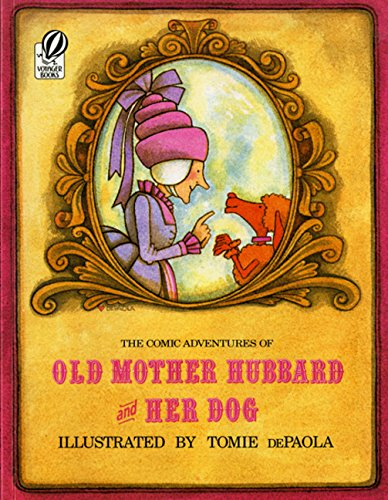 9780152195427: The Comic Adventures of Old Mother Hubbard and Her Dog