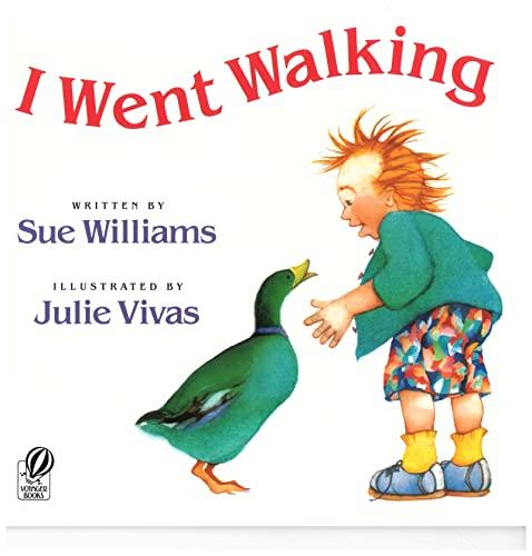 9780152380113: I Went Walking (A Voyager/Hbj Book)