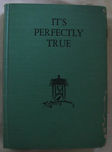 9780152393434: It's Perfectly True: And Other Stories