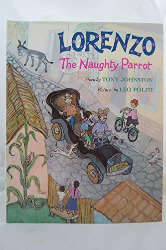 LORENZO THE NAUGHTY PARROT: JOHNSTON, TONY