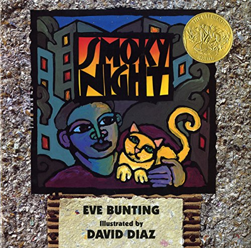 Smoky Night DOUBLE SIGNED: Bunting, Eve