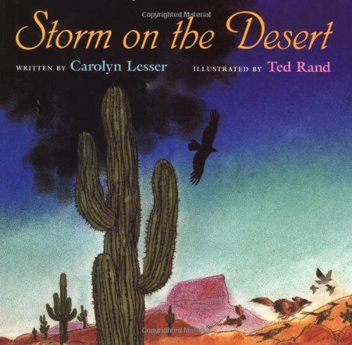 9780152721985: Storm on the Desert