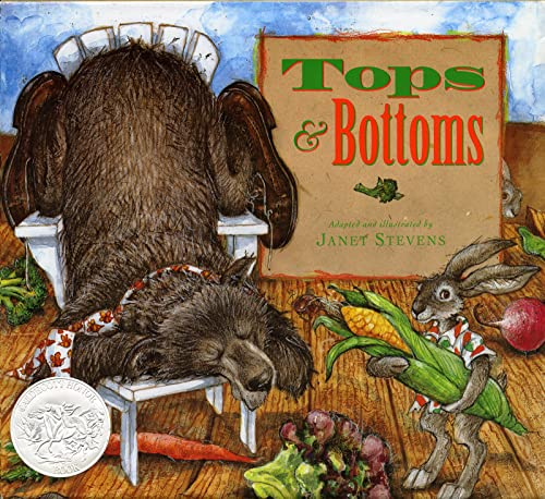 9780152928513: Tops & Bottoms (Caldecott Honor Book)