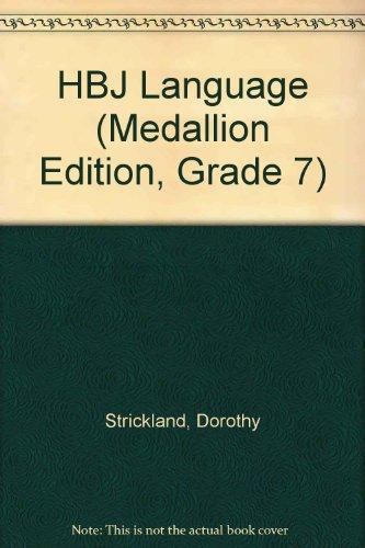 9780153010668: HBJ Language (Medallion Edition, Grade 7)