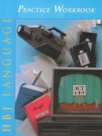9780153010750: Hbj Language: Practice Workbook for Grade 8 : Medallion Edition