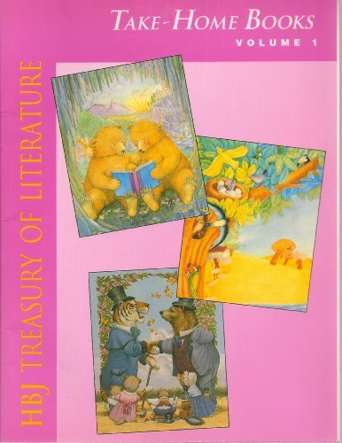 9780153013669: HBJ Treasury of Literature Take-Home Books Volume 1 to Accompany A Friend Like You, Across the Fields, Let's Shake on It! by Unknown (1993-05-03)