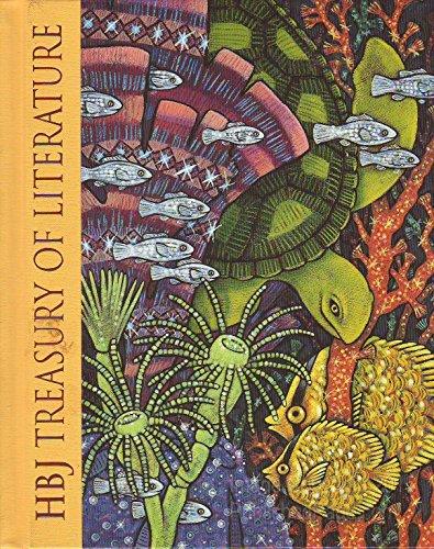 9780153014734: HBJ Treasury of Literature: Sparkling Colors