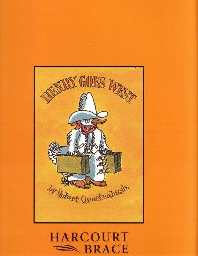 9780153016264: Harcourt School Publishers Treasury of Literature: Big Book Grade 2 Henry Goes West (Treasury of Literature 93y048)