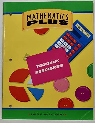 Mathematics Plus-Teaching Resources- Grade 3 (Mathematics Plus): Brace, Harcourt