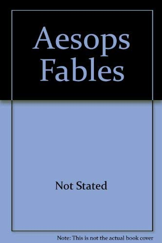 9780153022005: Aesops Fables