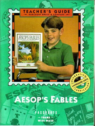 9780153023804: Teacher's Guide, Aesop's Fables illustrated by Fulvio Testa (Passports)