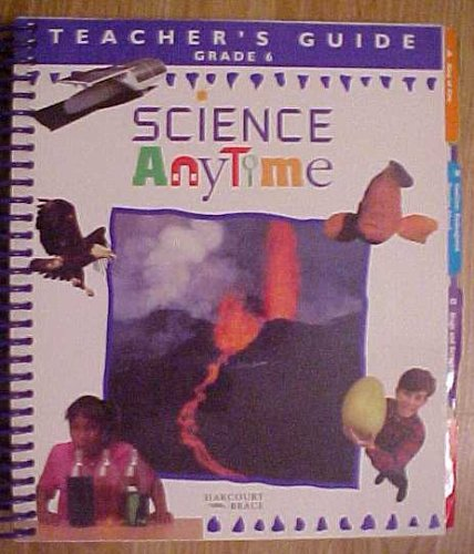 9780153048951: Teacher's Guide Grade 6 Science Anytime