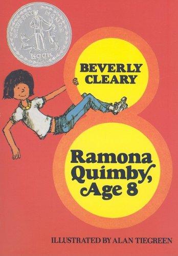 9780153052057: Harcourt School Publishers Treasury of Literature: Library Book Grade 3 Ramona Quimby,Age 8