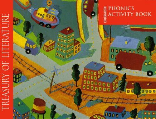 9780153053580: Kindergarden Phonics Activity Book (Treasury of Literature)