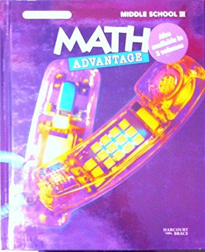 9780153056826: Math Advantage (Middle School 3)