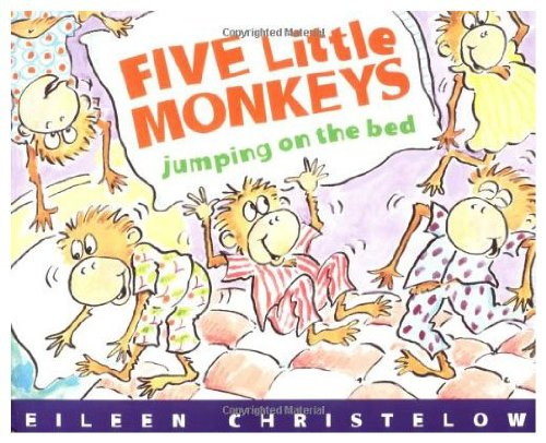 9780153074677: Five Little Monkeys Jumping on the Bed