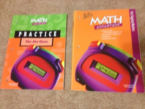 Test Copying Masters Math Advantage Gr 5: Harcourt Brace Publishing