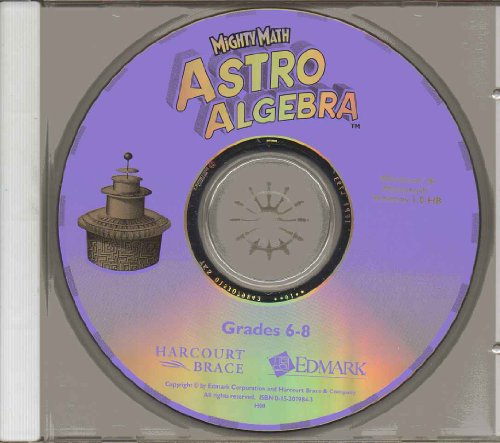9780153079863: Astro Algebra CD-ROM Package Grs 6-8
