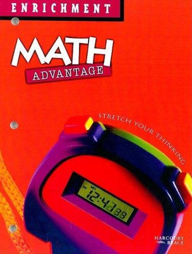 9780153086595: Enrichment Math Advantage: Stretch Your Thinking, Grade 5