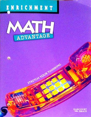 Math Advantage Student Enrichment Workbook Grade 8: Harcourt Brace